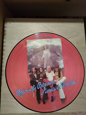 Japanese ABBA Ring Ring Picture Disc Less Than 100 Pressed Ultra Rare