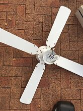 Ceiling Fan + light with remote - works perfectly Canada Bay Canada Bay Area Preview