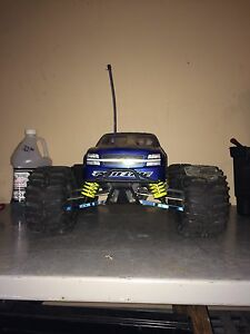Gas Powered Team Losi 4x4 RC Monster Truck