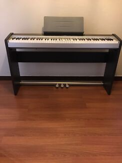 Casio Privia PX-120 Digital Piano with 3 Pedals and piano Stand