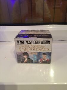 harry potter stickers panini The Crimes Of Grindelwald (50 Packets)