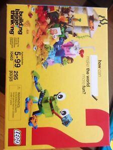 Lego #10403 60e anniversaire Building Bigger Thinking