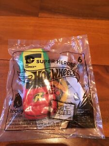 McDonalds Happy Meal DC Comics Super Heroes Hot Wheels #6 Robin