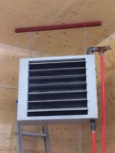 Heat Exchanger Coil and Fan