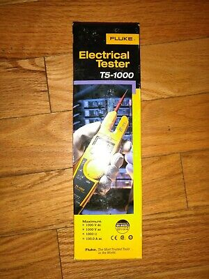 Fluke T5-1000 1000 Voltage Continuity Current Electrical Tester Brand New Usa