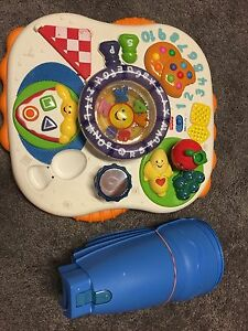 Baby stand and play table