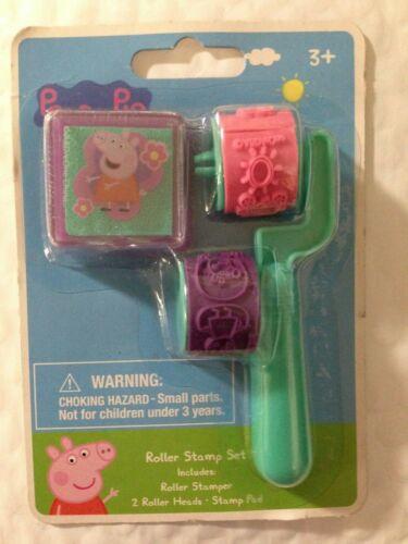 4 Piece Peppa Pig Roller Stamp Set, NEW
