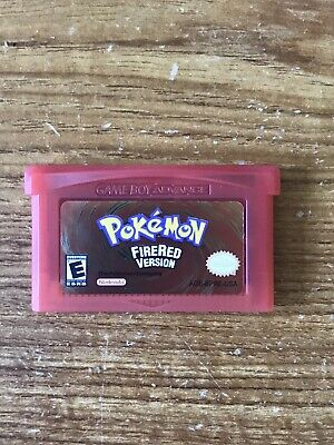 Pokemon Fire Red GBA Game, Cartridge Only!