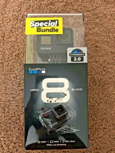 GoPro HERO8 4K Waterproof Action Camera Special Bundle - Black