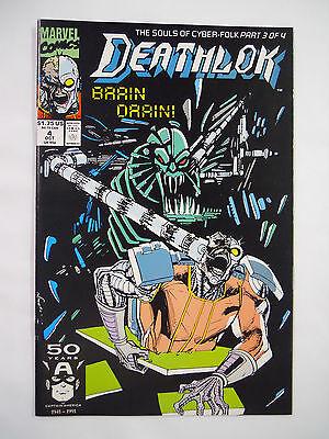 VINTAGE! Marvel Comics Deathlok #4 (1991)