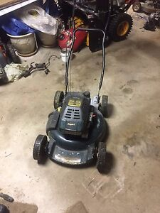 5.5 hp aluminium deck lawn mower