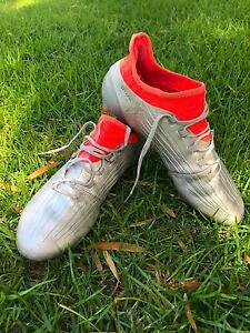Football/Soccer boots Adidas X 16.1 FG-silver and orange Exeter Port Adelaide Area Preview