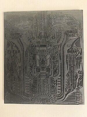 Authentic H.R. Giger's AVP Alien Original Lithograph Style Art Vinyl Piece RARE