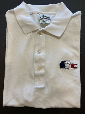 Lacoste SS Cotton Polo Shirt Youth Size 3 White