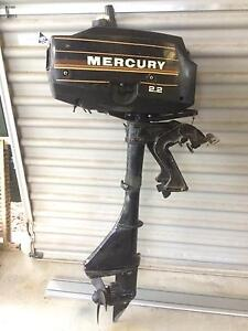 Mercury 2.2HP Outboard Wooloowin Brisbane North East Preview