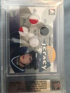 Sidney Crosby Rookie HocKey Card limited # Jersey