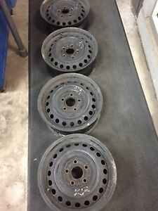 5x110 Honda Civic steel wheels