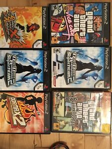 Ps2 games - DDR games