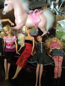 Barbies and horse