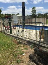 Copper logs and 2 x steel gates Morayfield Caboolture Area Preview