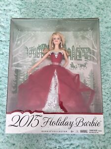 Holiday Barbie 2015 Collectors Edition