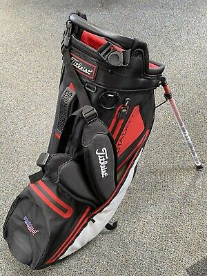 ***BRAND NEW** Titleist Players 4 StaDry Stand Bag ((Black/White/Red))