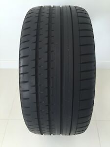 One 265 35 ZR19 AllSeason Continental Contiprocontact NearlyNew