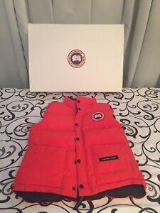 Orange Canada Goose Vest
