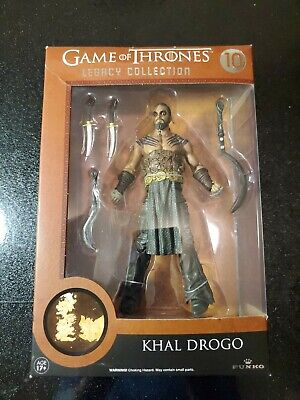 """Game of Thrones Legacy Collection Khal Drogo #10 6"""" Action Figure New Funko"""