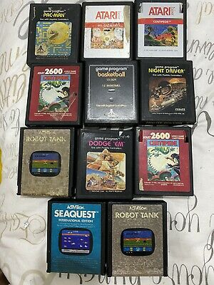 Atari 2600 Games Bundle RARE