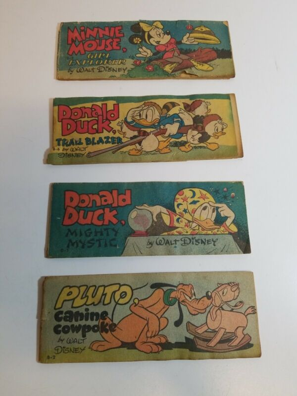 1950 Wheaties Cereal Premium Mini Comics Disney