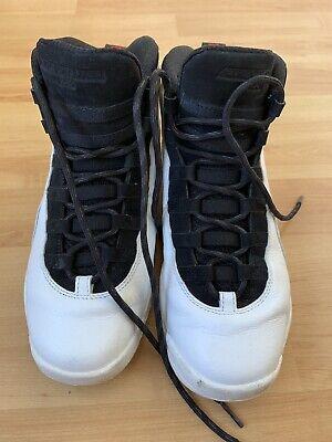 dee9519cda9cbe Nike Air Jordan 10 Retro BG 23 UK Size 5.5 EUR38.5 White With Black