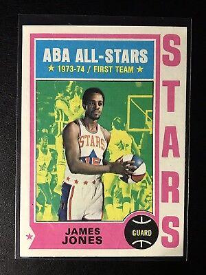 1975 Topps #260 ABA ALL-STARS 1st Team James Jones, used for sale  Boynton Beach