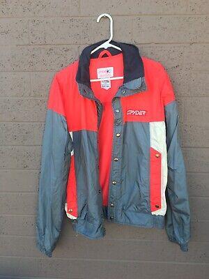 Vintage Spyder Entrant Ski Snowboarding Jacket Men's Medium Made In Japan