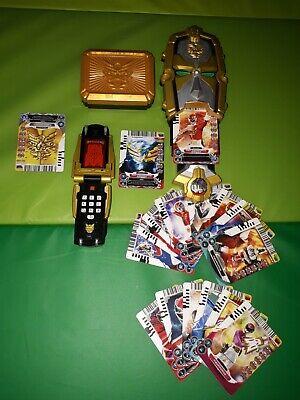 Power Rangers Megaforce Robo Knight Morpher, Gorsei Morpher,Belt clip, 17 Cards