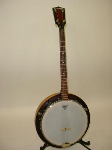 Vintage 1939 Kalamazoo by Gibson 4-String Tenor Banjo