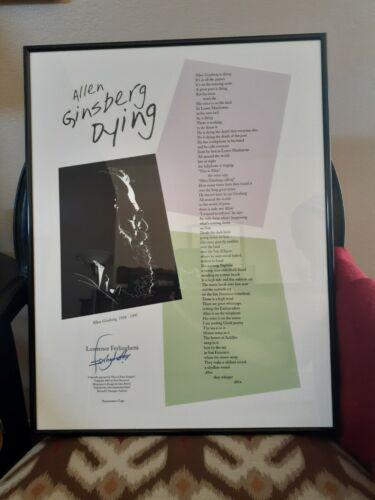 Signed Ferlinghetti Artwork - $200.00