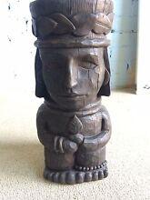 Wooden handmade statue Pendle Hill Parramatta Area Preview