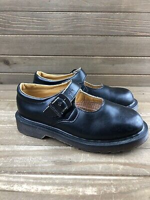 Dr. Martens MADE IN ENGLAND Black Mary Jane Leather Shoes Little Kids Sz 1