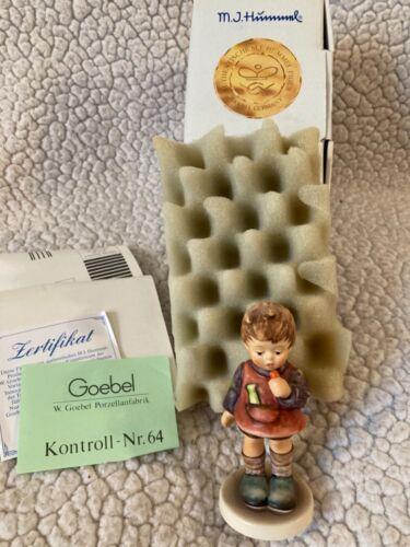 Vtg Hummel Goebel Figurine 435/3/0 Delicious (Schleckerle) 1st Issue Boxed