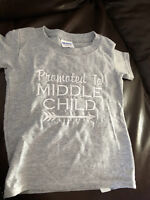 Middle child Shirt 2t