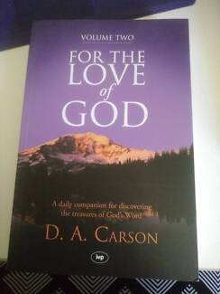 For the love of God by D. A. Carson Vol 2