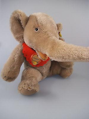 Steiff Elefant Jumbo 4322,00 - komplett mit KFS - 60er Jahre (227)