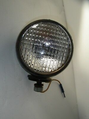 Vintage 6v Headlamp Head Light Farmall Ih Tractor Model 300