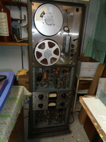 ampex 300 2 track recorder
