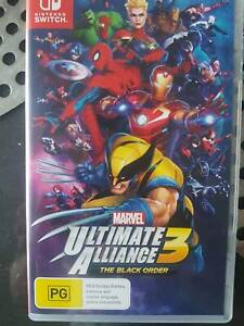 Nintendo Switch - Marvel Alliance 3 (physical)