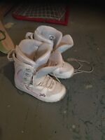 Snowboard boots size 7.5.  25.00