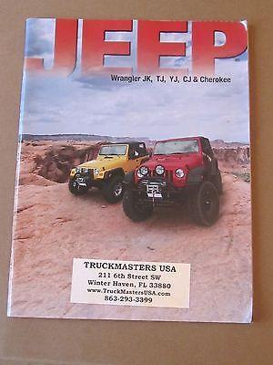 Jeep Accessories 2012 Brochure