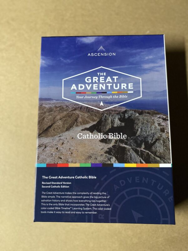Ascension The Great Adventure Catholic Bible Revised Standar Second Edition New