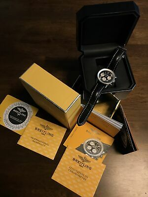 Breitling navitimer watch. In box rarely worn. Chronometer.